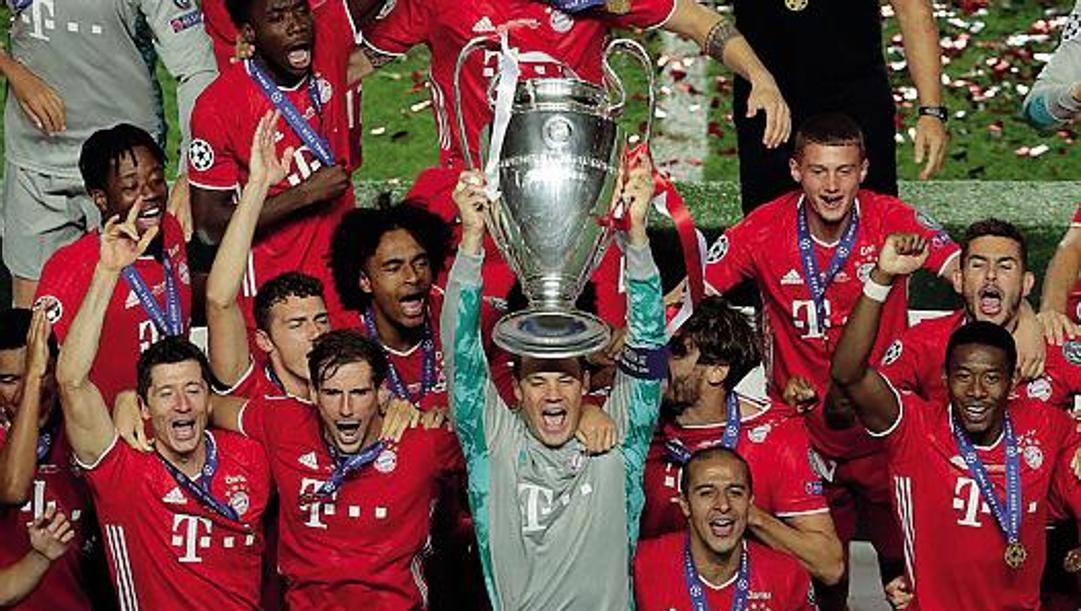 Il Bayern campione d'Europa