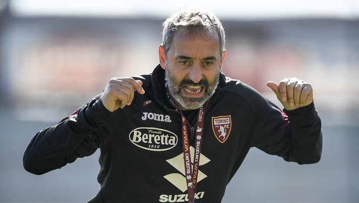 Marco Giampaolo, prima stagione al Torino. Lapresse