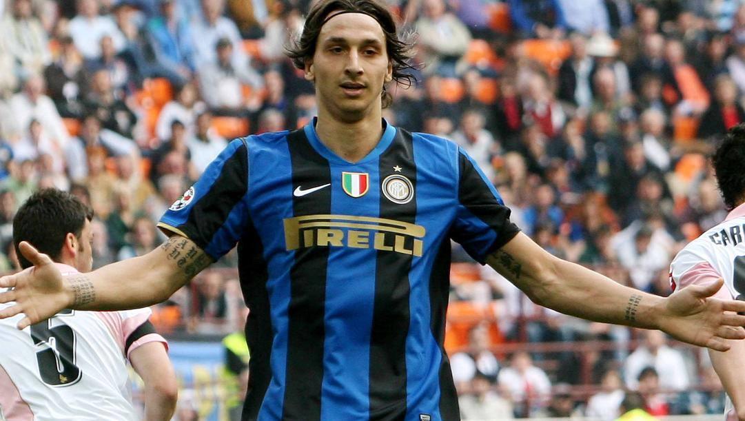 Ibra in maglia Inter. LaPresse
