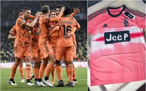 juve dopo l arancio torna la maglia rosa e disegnata da pharrell la gazzetta dello sport maglia rosa e disegnata da pharrell