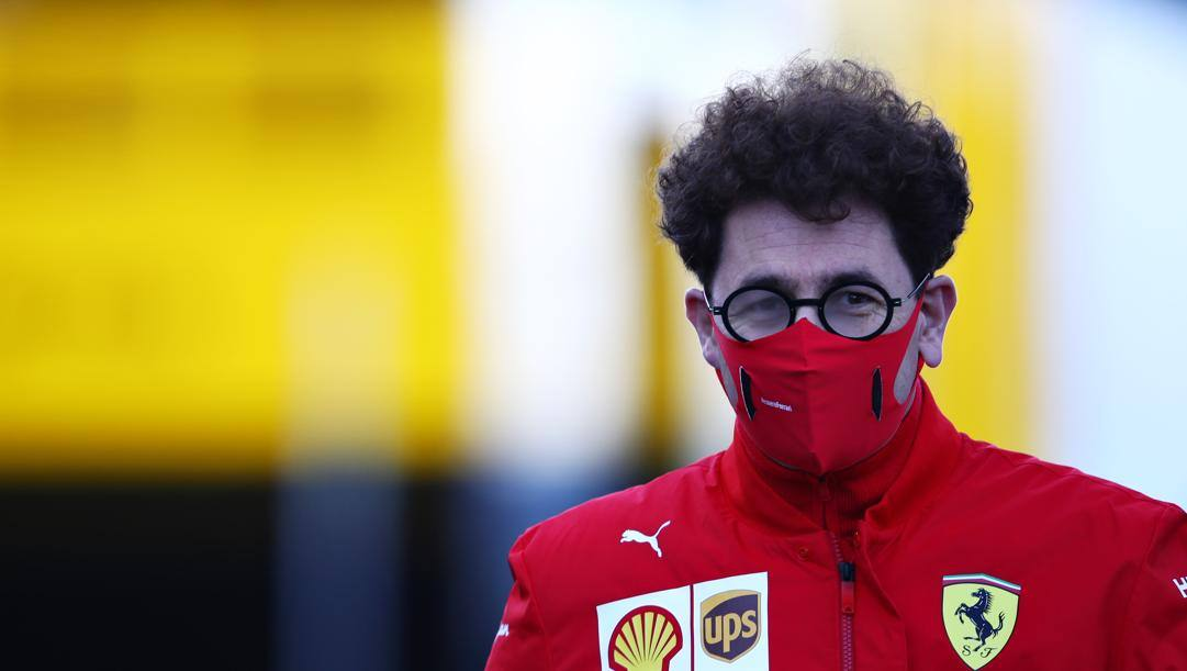 Mattia Binotto, team principal Ferrari. Getty