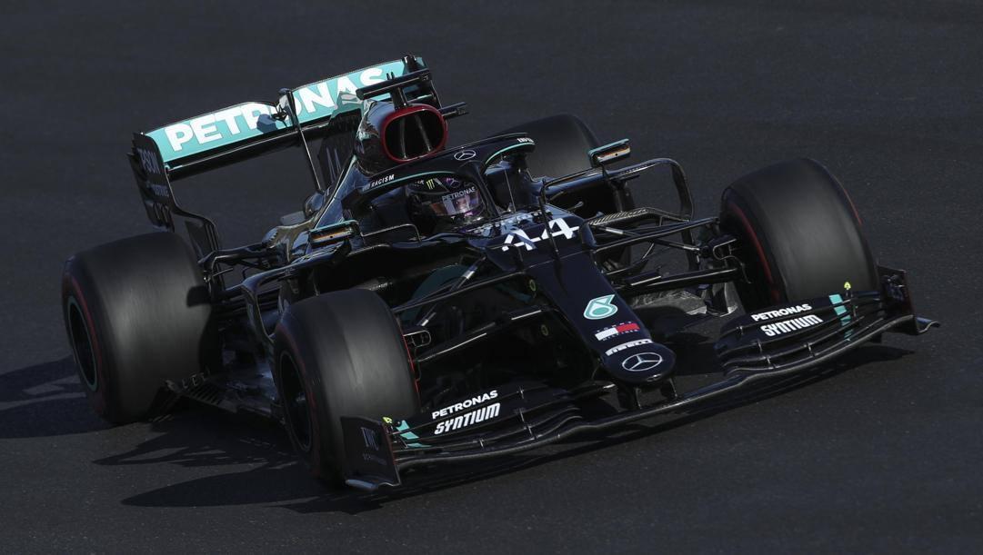 Lewis Hamilton, 35 anni, sei volte campione del mondo. Epa