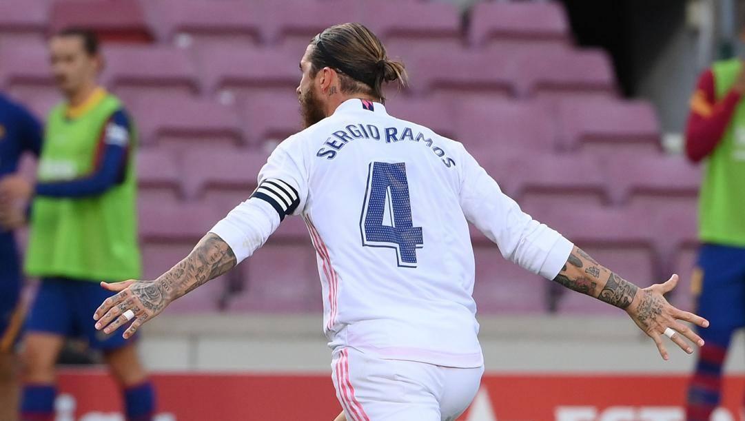 Capitan Sergio Ramos, 34 anni. Afp