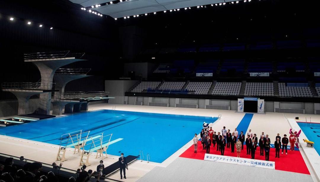 Il nuovo centro acquatico Yuriko Koike