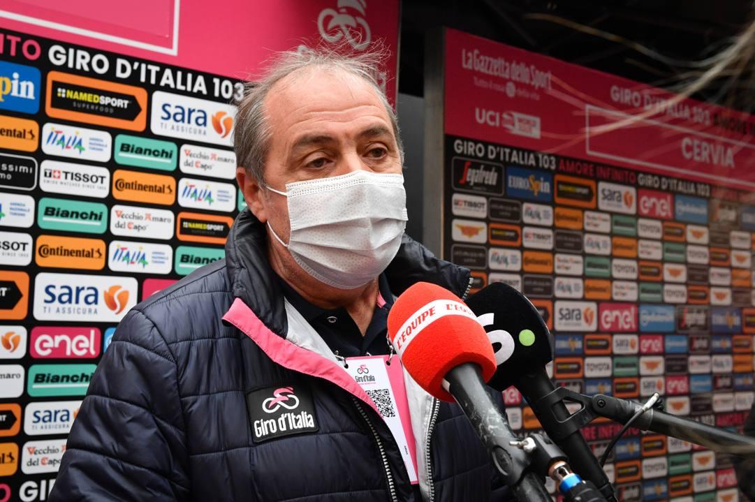 Mauro Vegni, 61 anni. LaPresse