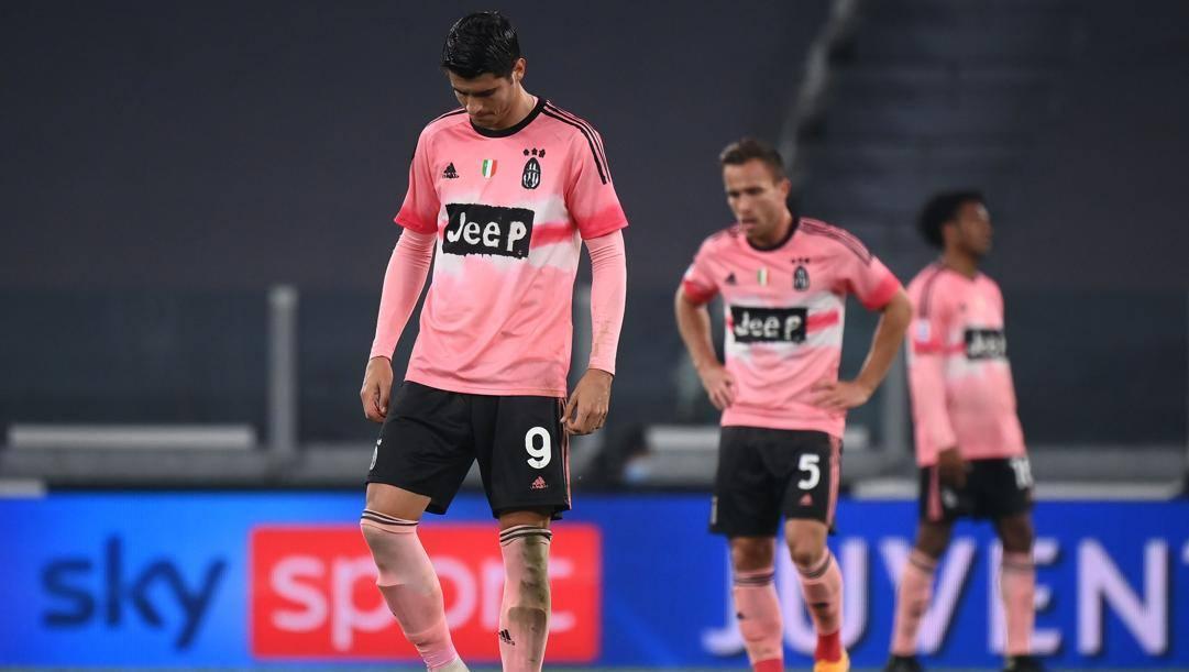 Morata e la Juventus. Afp