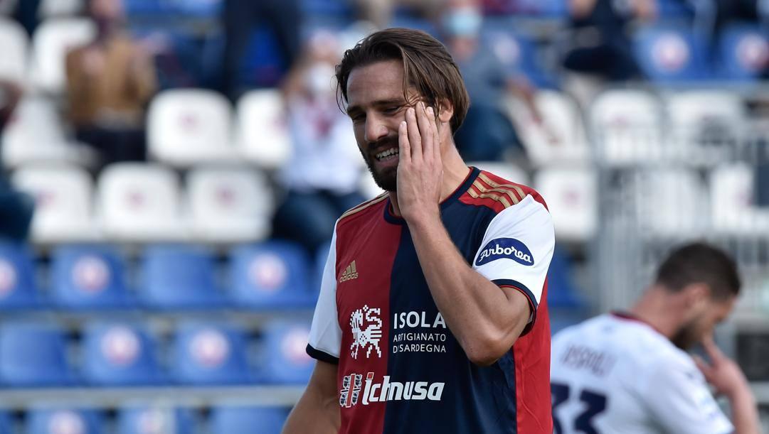 Leonardo Pavoletti, 31 anni. LaPresse