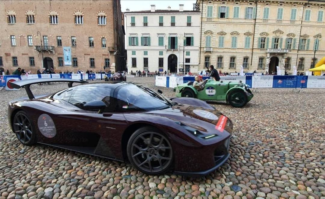 La Dallara Stradale a Mantova (cortesia Fabio Cerioli)