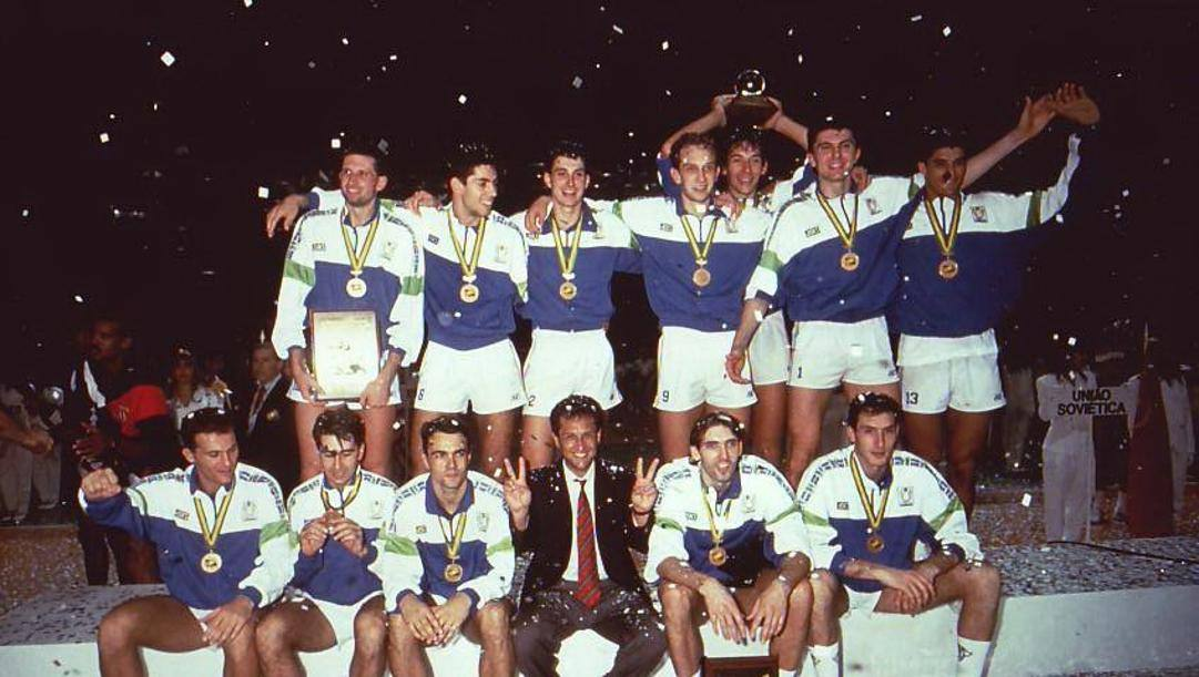 L'Italia campione del Mondo 1990. Galbiati