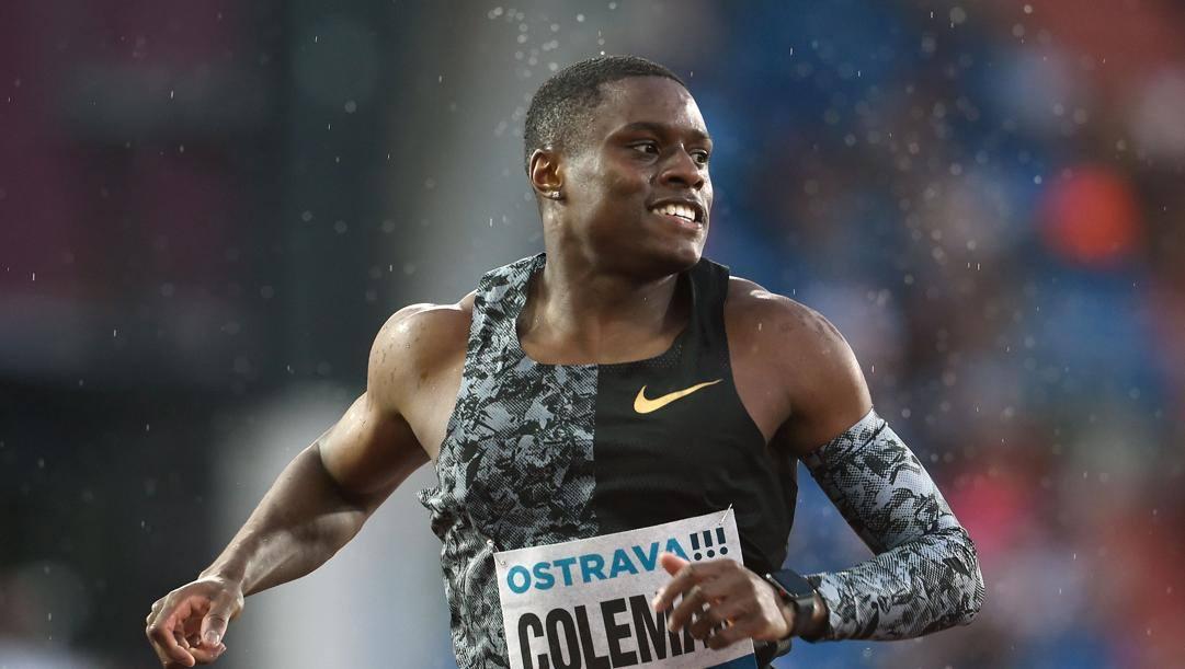 Christian Coleman. Afp