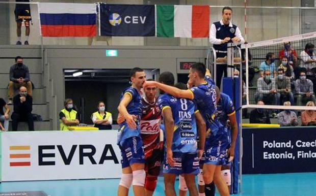 Trento vicinissima alla fase a gironi di Champions