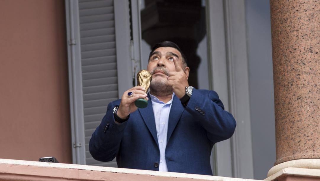 Diego Armando Maradona, 60 anni. Getty Images