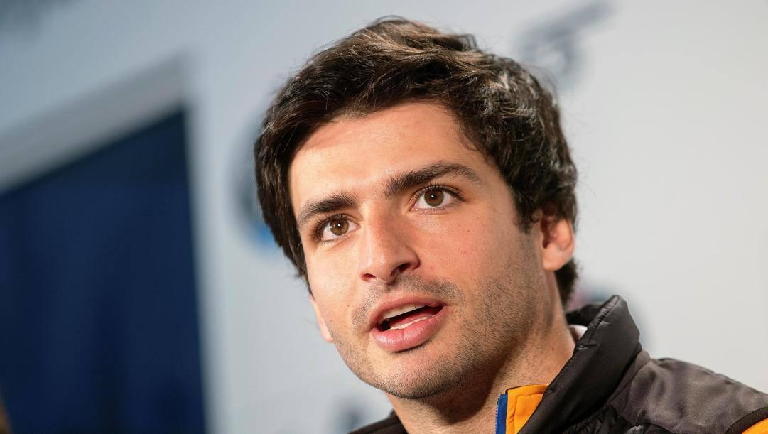 Carlos Sainz, la prossima stagione alla Ferrari. Epa