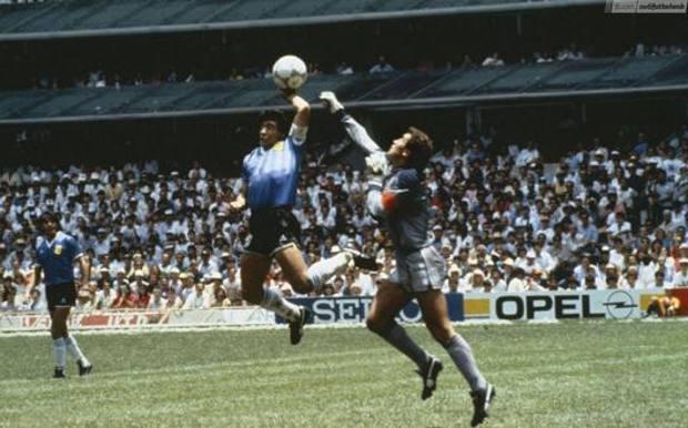"""La """"mano de Dios"""", ovvero il gol all'Inghilterra a Messico '86"""