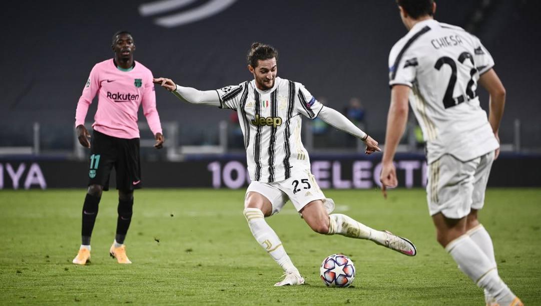 Adrien Rabiot, 25 anni, francese della Juventus. Afp