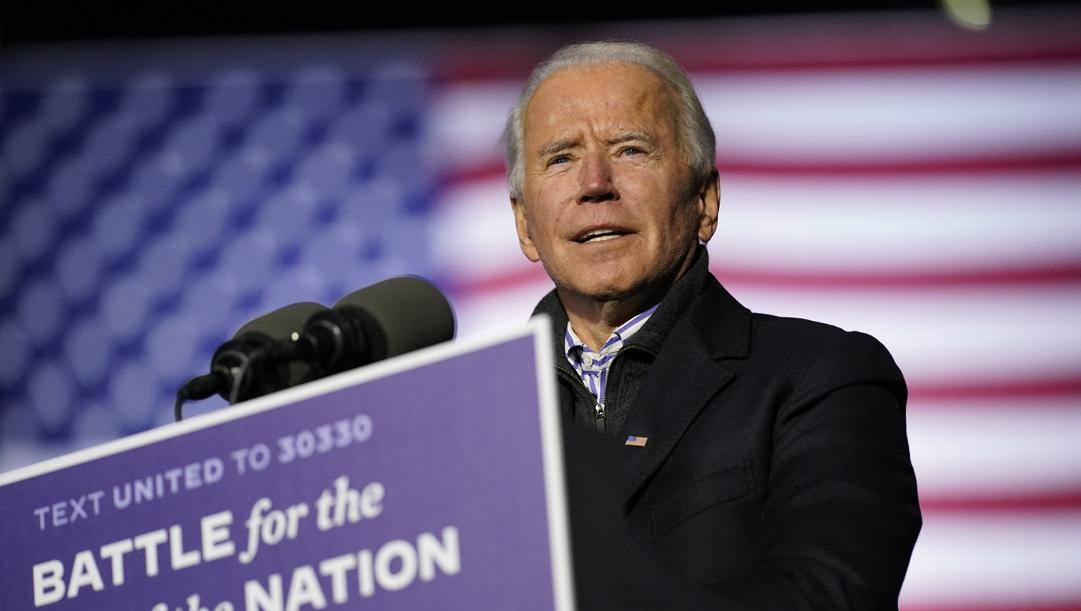 Joe Biden, 77 anni, è il 46° presidente Usa. Ap