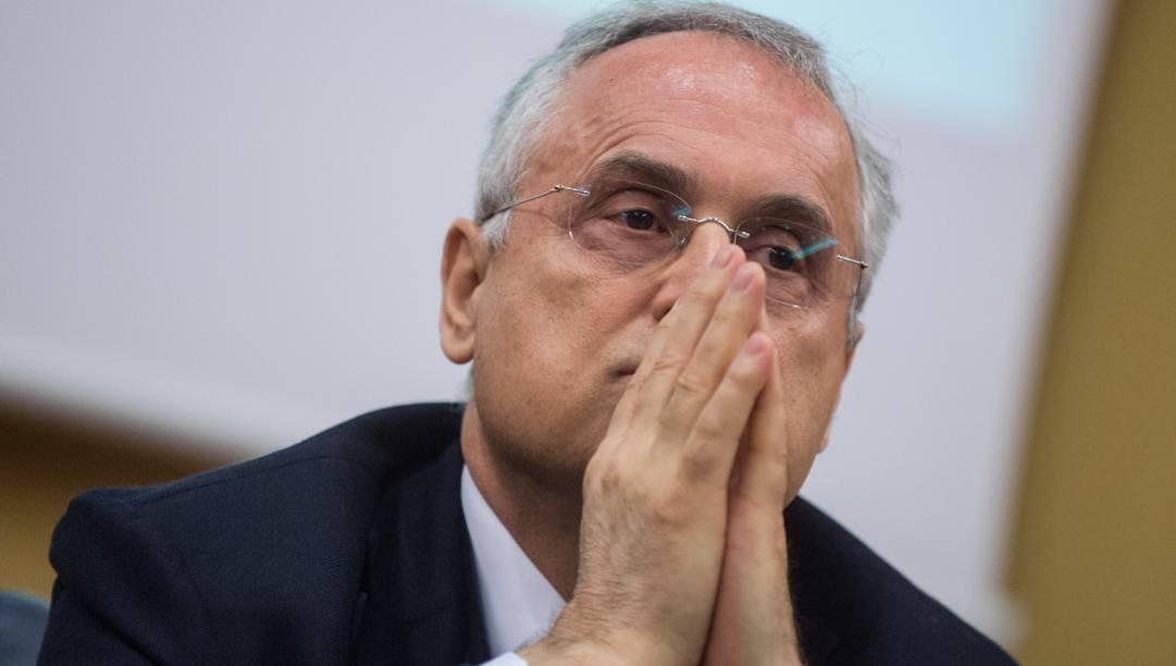 Claudio Lotito. Lapresse