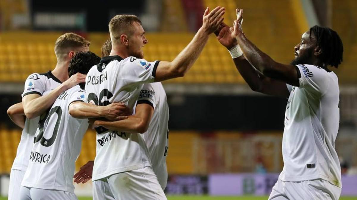 Benevento-Spezia, le pagelle: Caldirola distratto, 5. Pobega è ...