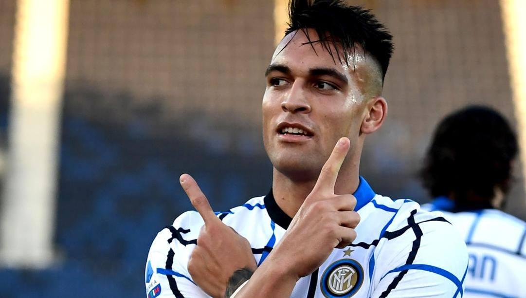 Lautaro Martinez, 23 anni. Afp