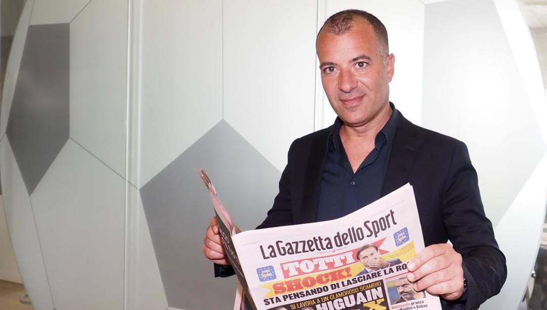 Il presidente del Lecce in Gazzetta. Fabio Bozzani