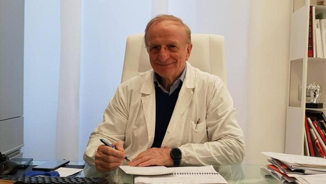 Ivo Pulcini, responsabile medico della Lazio