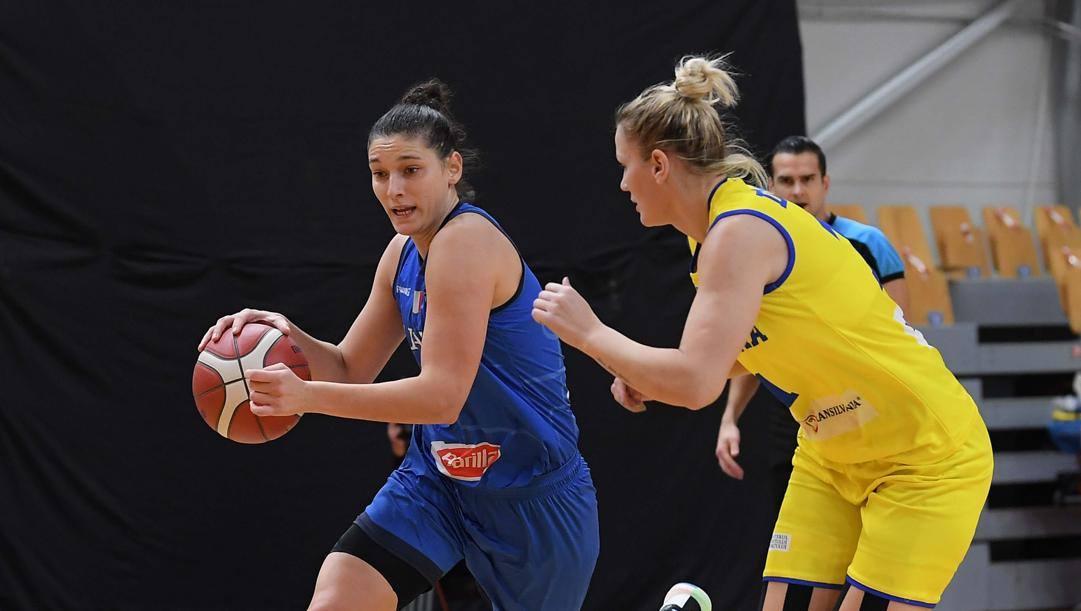 Cecilia Zandalasini, 24 anni, contro la Romania CIAMILLO