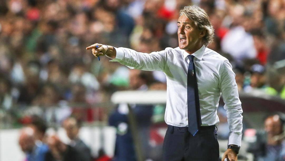 Roberto Mancini. Epa
