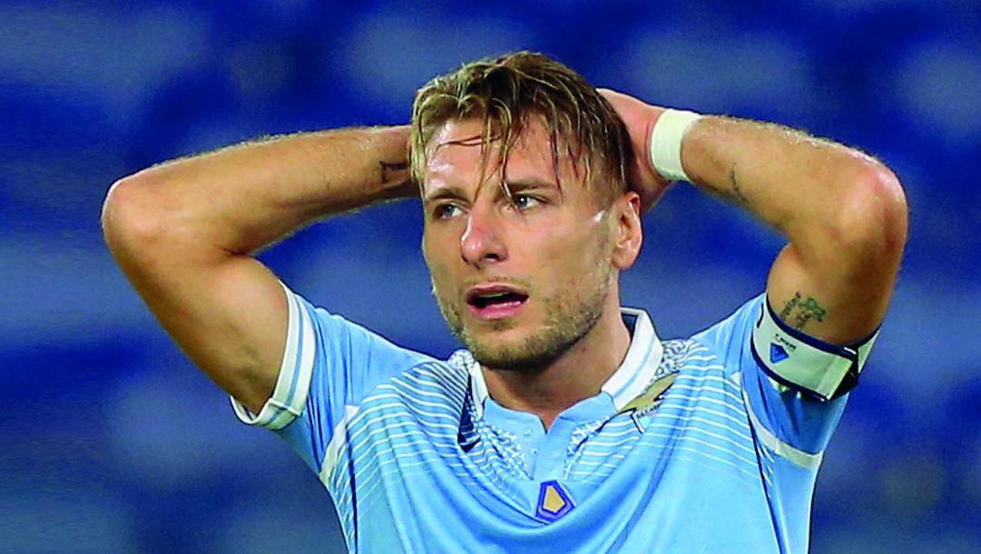 Ciro Immobile, 30 anni, Scarpa d'Oro della scorsa stagione. Getty Images