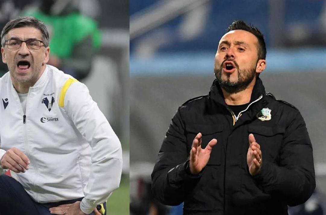 Ivan Juric e Roberto De Zerbi.