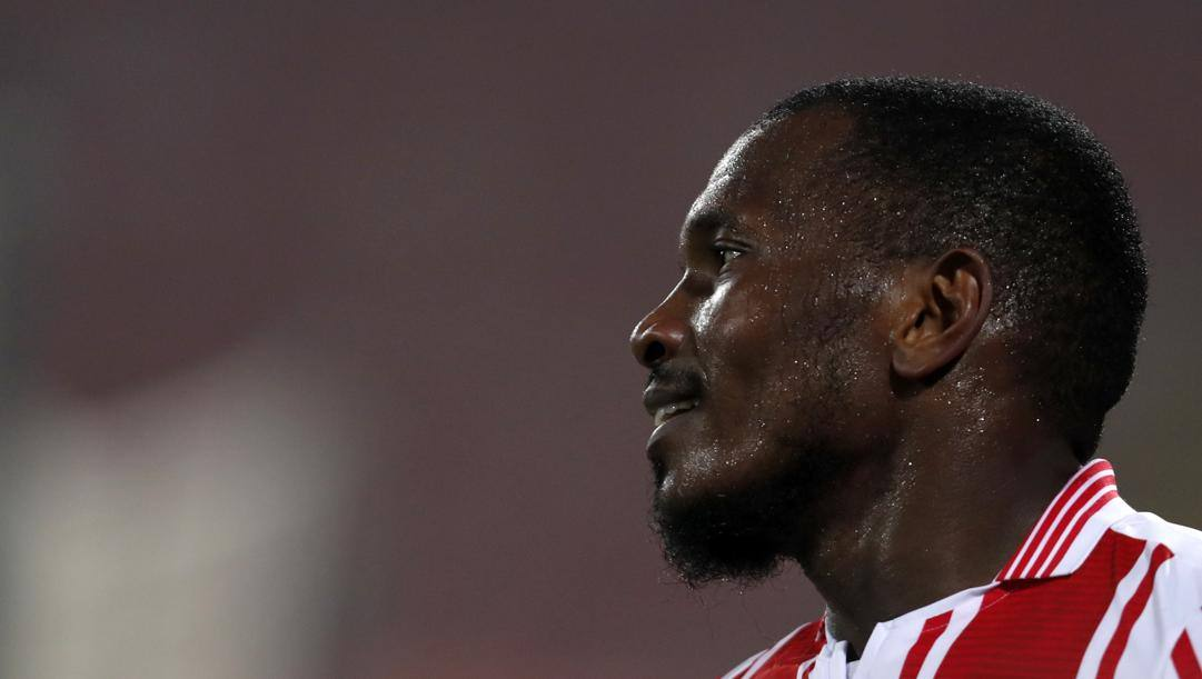 El Fardou attaccante delle Isole Comore con la maglia della Stella Rossa. Lapresse