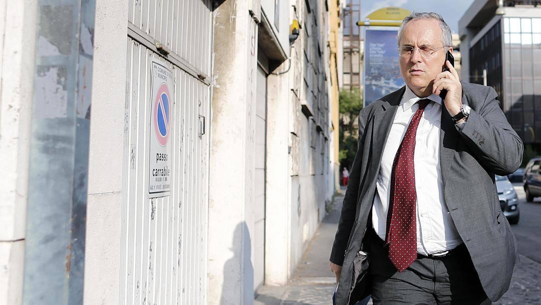 Claudio Lotito. Ansa