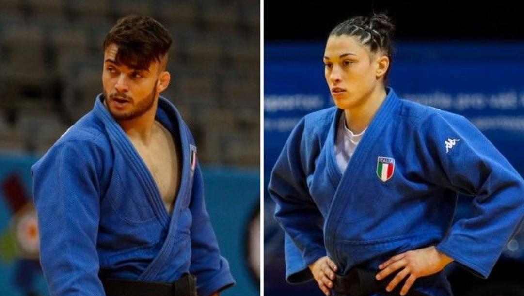 Fabio Basile e Alice Bellandi
