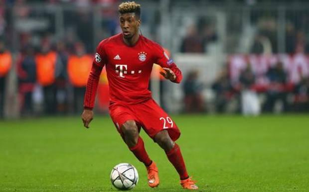 Kingsley Coman, attaccante del Bayern Monaco. Getty
