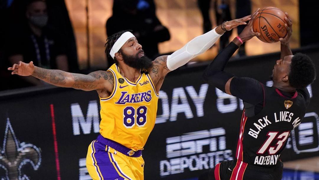 Markieff Morris è tornato ai Lakers. LaPresse