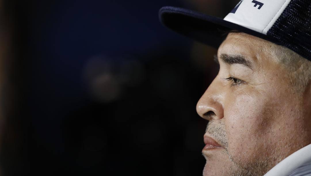 Diego Armando Maradona. Ap