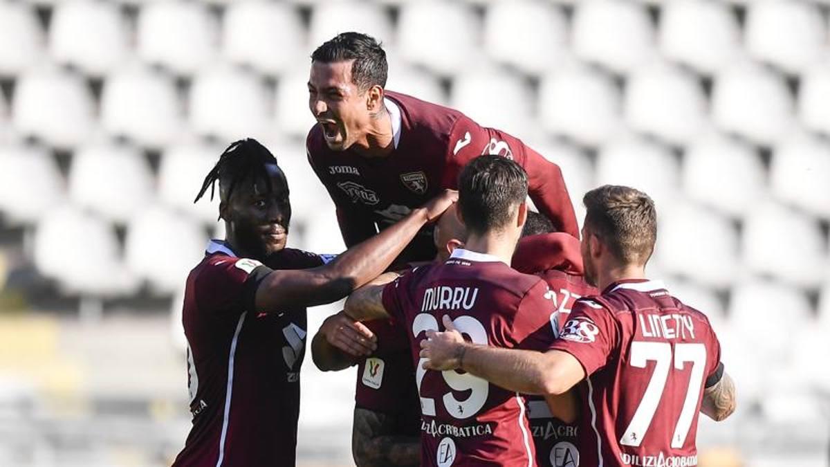 Al Torino bastano Zaza e Bonazzoli: 2-0 all'Entella. Agli ottavi c'è il ...