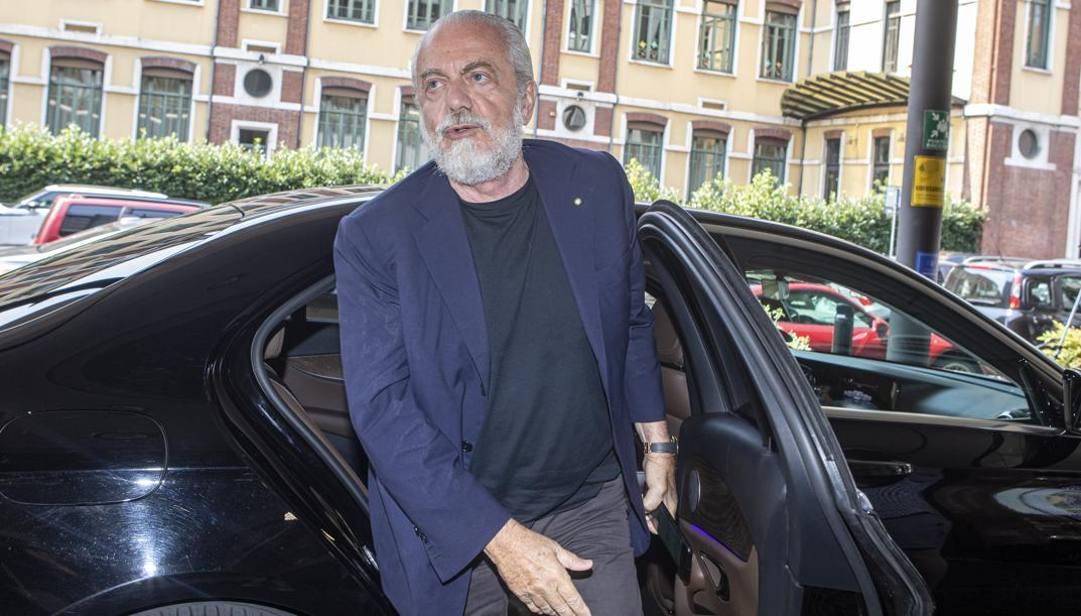 Aurelio De Laurentiis, presidente del Napoli. Imagoeconomica