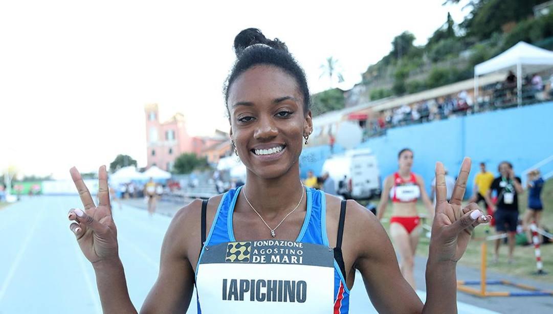 Larissa Iapichino, 18 anni, Ansa