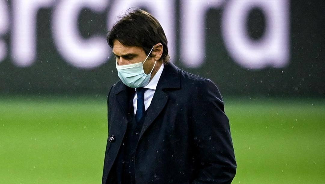 Antonio Conte, 51, tecnico dell'Inter. Epa