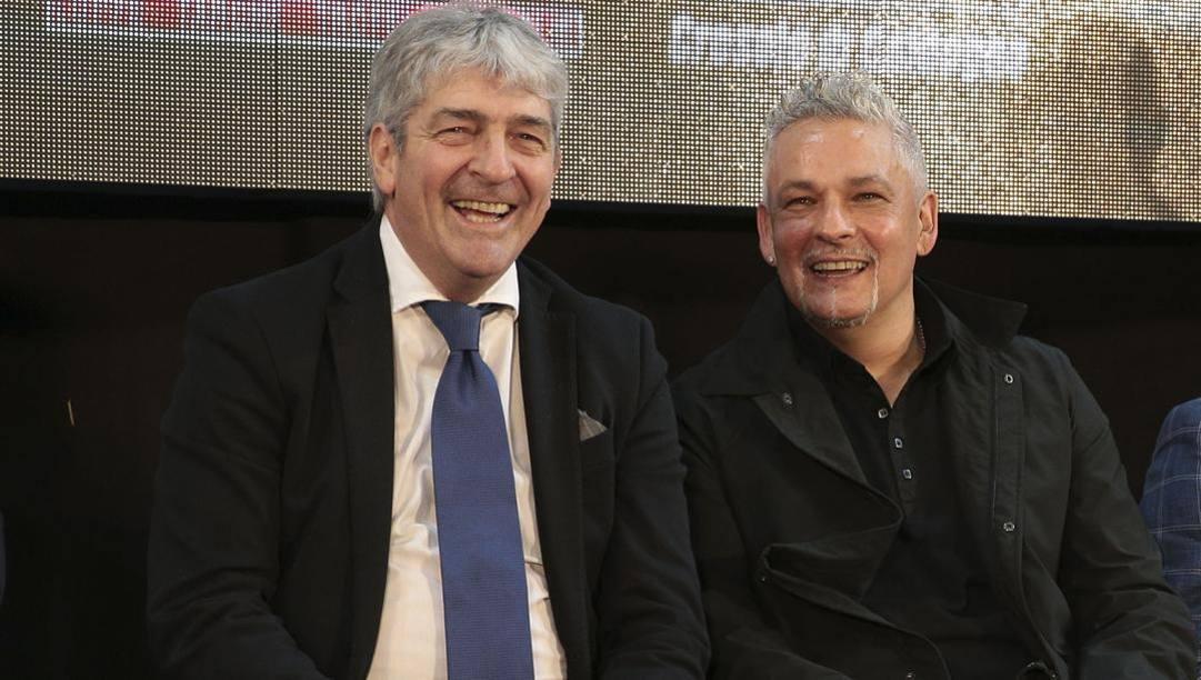 Paolo Rossi e Roberto Baggio