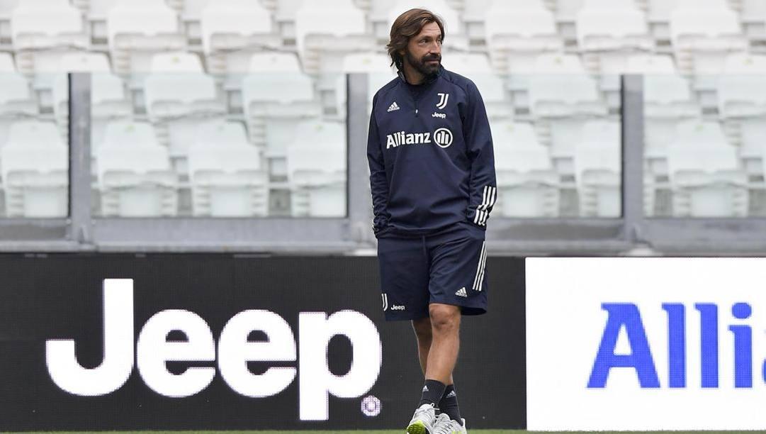 Il tecnico della Juve, Andrea Pirlo. Getty