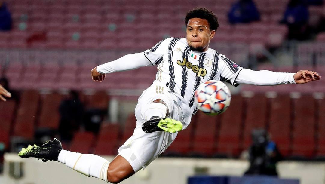 Weston McKennie, 22 anni, prima stagione alla Juve. Epa