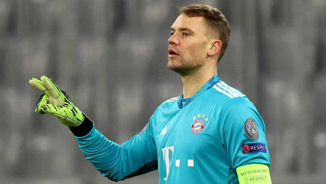 Manuel Neuer, 34 anni. Getty Images