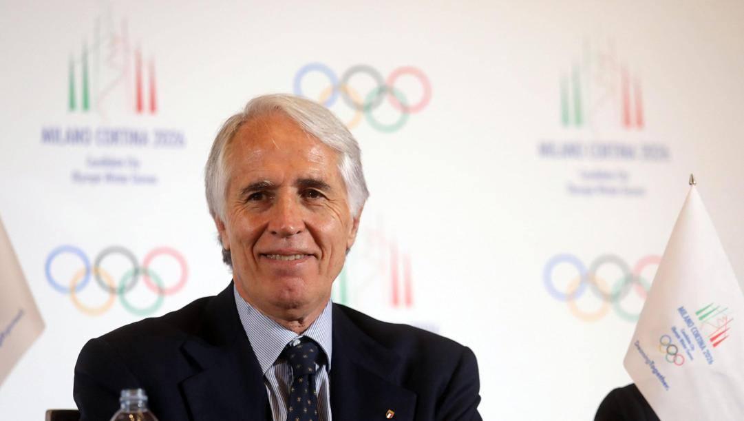 Il presidente del Coni, Giovanni Malagò. Ansa