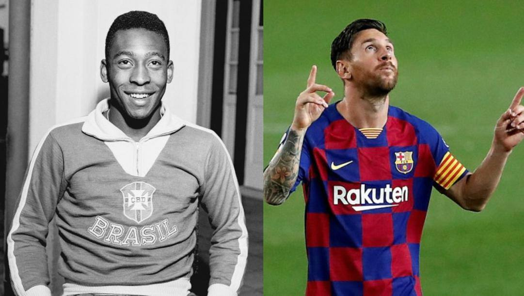 Pelè e Messi