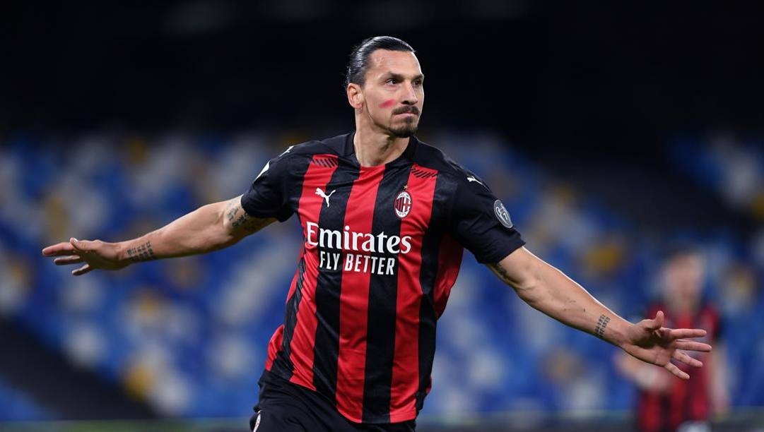 Zlatan Ibrahimovic., 39 anni. Getty