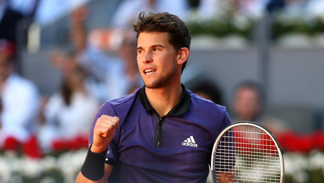 Dominic Thiem, ultimo vincitore a Indian Wells GETTY