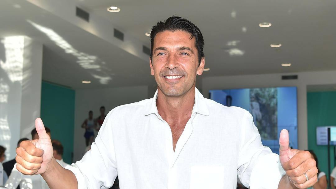 Gigi Buffon, 43 anni il 28 gennaio. Ansa