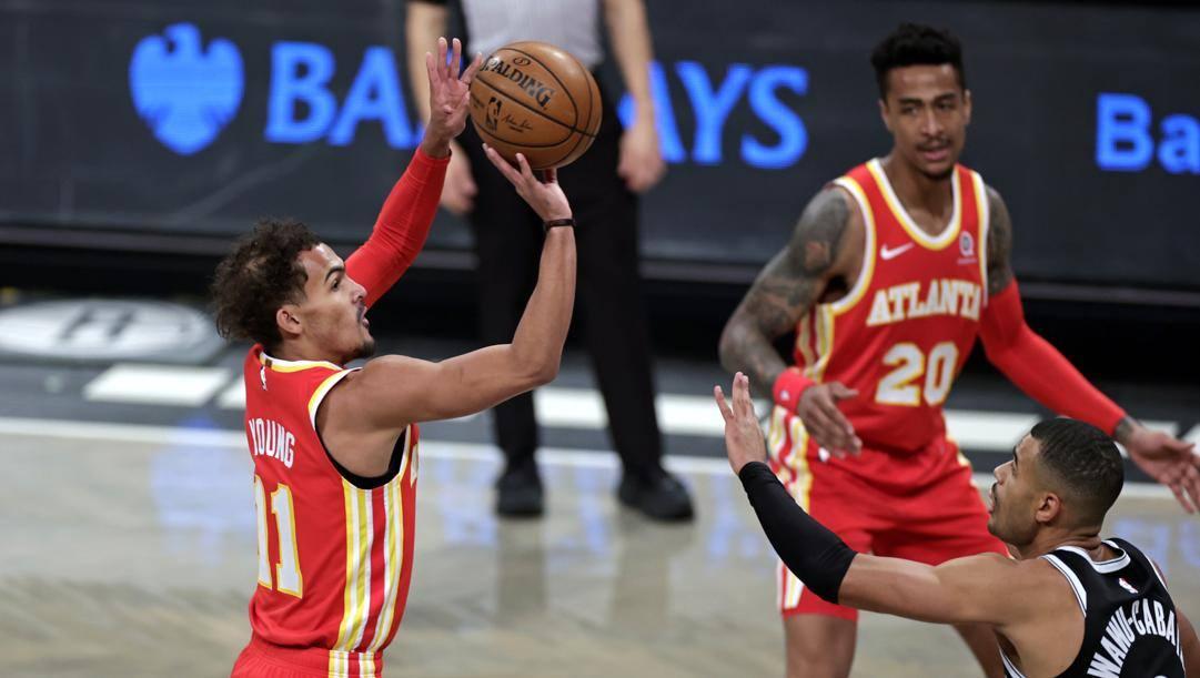 Trae Young, il migliore degli Hawks AP