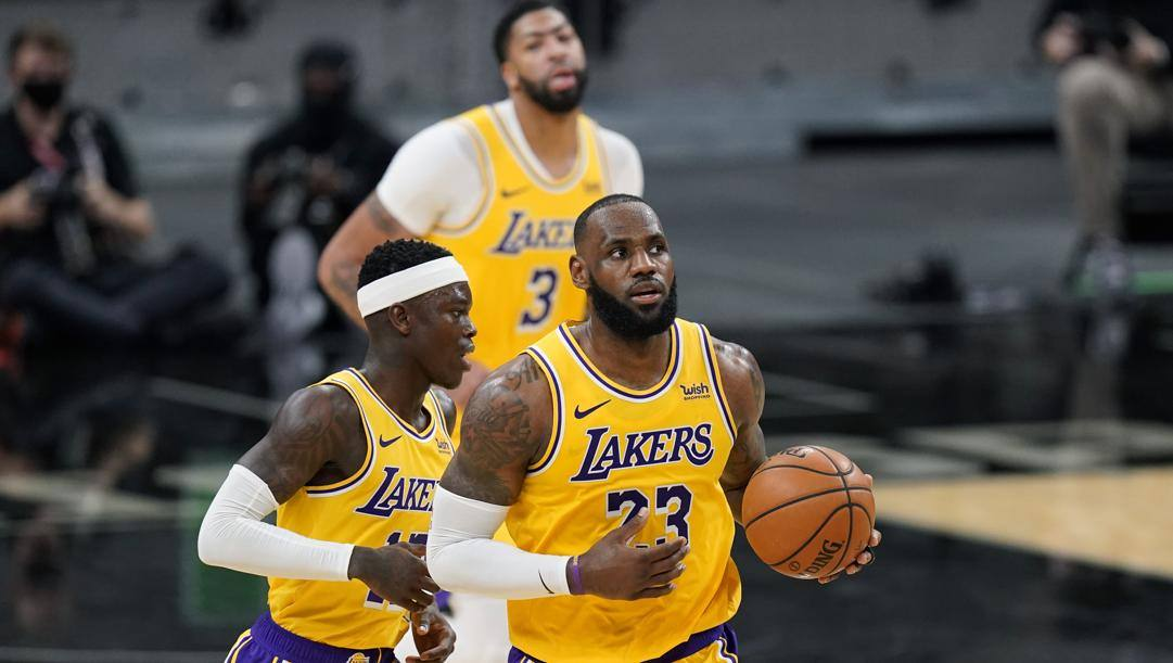 I Lakers sempre in testa al Team Ranking Gazzetta. LaPresse